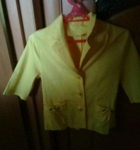 Блуза стрейч на 40 или 42 размер