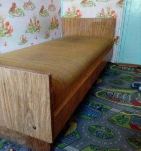 Кровать односпальная бесплатно