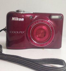 Продам фотоаппарат Nikon coolpix L30