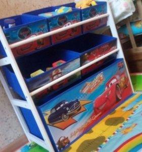 Комплекс ящиков для хранения игрушек. Новый