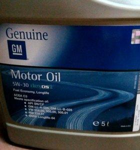 Моторное масло GM Dexos2 5w*30