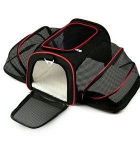 Инновационная сумка -переноска для животных