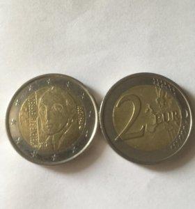 2 евро Финляндии