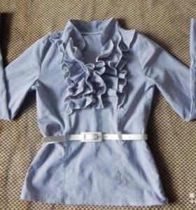 Школьная блузка 134-140
