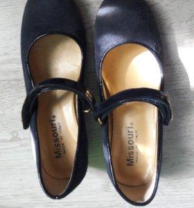 Туфли р.33 нат.замша