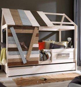 Кроватка домик, кровать-чердак