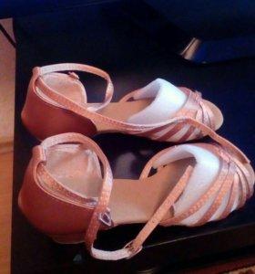 Туфли для спортивно-бальных танцев.