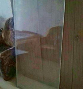 Новый двойной стеклопакет длина -137,5 ширина 70,5