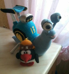 Игрушки Турбо и Пин