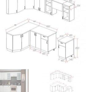 Сборка кухонной гарнитуры