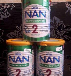 Кисломолочная смесь NAN 2