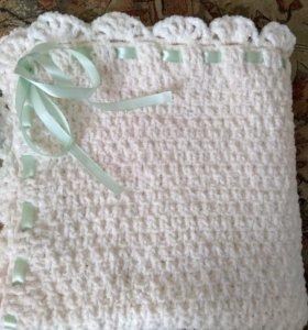 Одеяло-Плед на выписку. Новый.