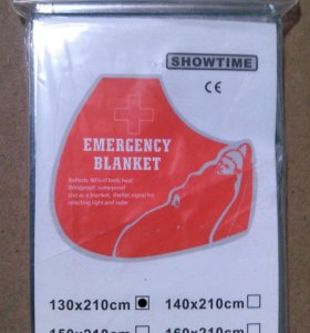 Изотермическое спасательное термоодеяло