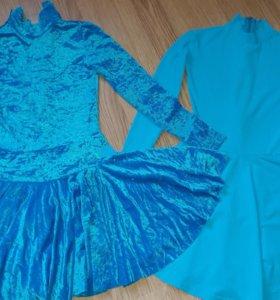 Два бальных платья + туфли