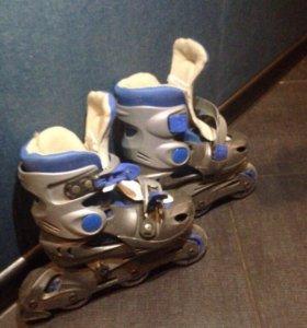 Детские роликовые коньки. Раздвижные.