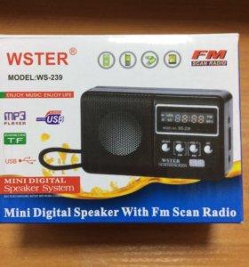 Портативный радиоприёмник wster ws-239