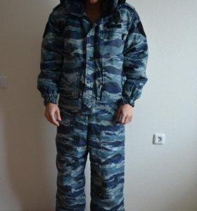Зимняя военная форма (куртка, полукомбинезон).торг
