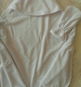 Полотенце с рукавичкой