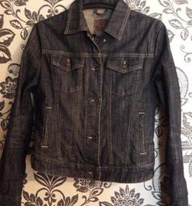 Куртка джинсовая, платье 46р