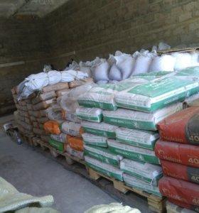 Строительные сухие смеси цемент песок щебень керам