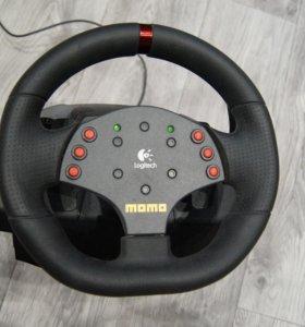 Руль  Logitech Momo Racing