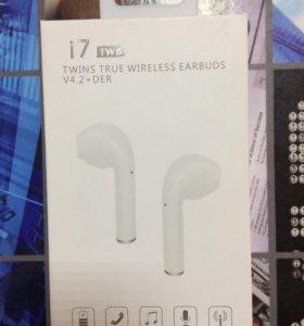 Беспроводные наушники Bluetooth i7 tws