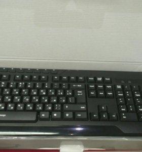 Клавиатура+мышка+коврик
