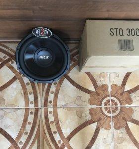 Новый сабвуфер kicx stq 300(новинка 800 ват)