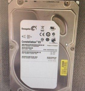 Жёсткий диск Seagate sas 1000 Gb st31000424ss