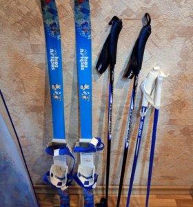 Детские лыжи 110см