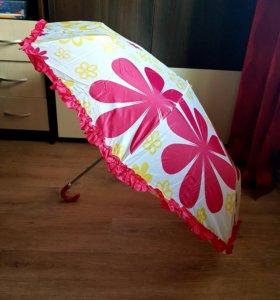 Новый яркий зонт для девушки