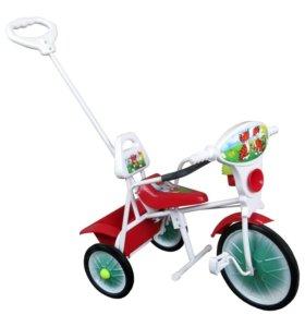 Велосипед МАЛЫШ новый с ограждением.
