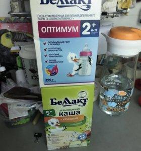 Беллакт каша молочная 5 злаков безмолочная гречка,