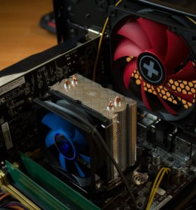 Игровой компьютер I3 4170, GTX1050, 8Gb DDR3