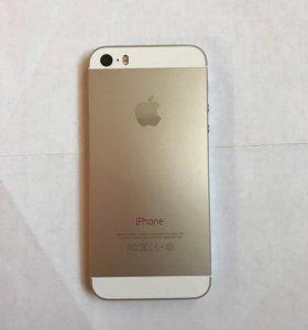 iPhone 5s; 16gb; золотой