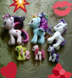 СРОЧНО!!! My little pony мягкие игрушки.