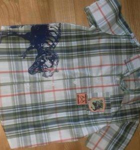 Новая Рубашка на мальчика 6 лет