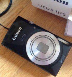 Новый фотоаппарат с сумочкой canon ixus 185