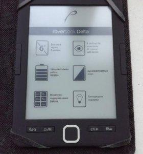 Электронная книга roverbook Delta + чехол