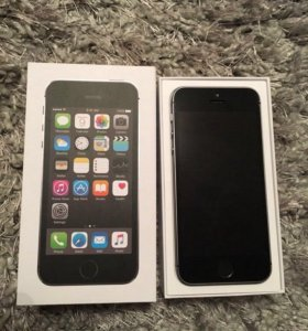 iPhone 5s, Space Gray, 16 GB