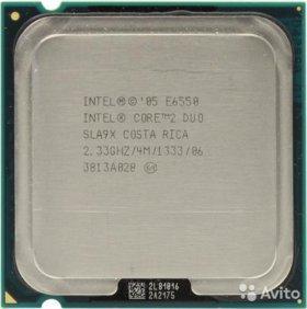 Intel Core 2 Duo E 6550