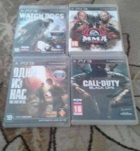 Продам 4 игры на PS3