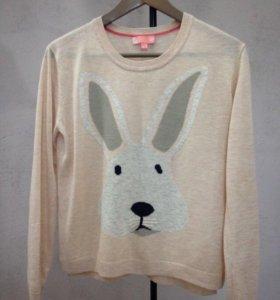 Кофта свитшот с кроликом