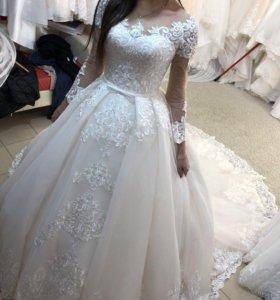 Свадебное платье невесты от бренда Semida Sposa
