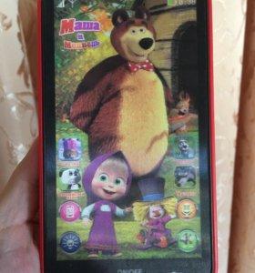 Телефон музыкальный интерактивный Маша и Медведь