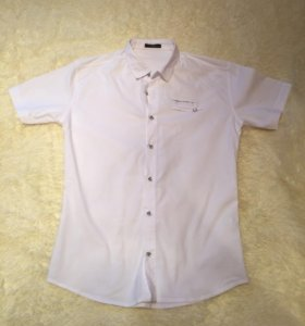 Мужская рубашка 48-50 размер