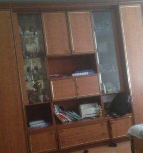 Стенка в гостиную Шатура