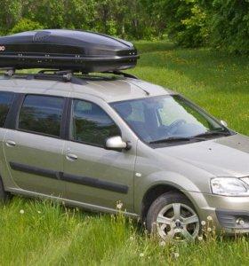Автобокс Antares Yuago 580 литров Черный