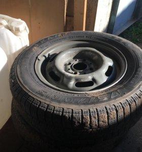 Продаетс комплект из 4 колес р-13