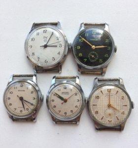 Часы СССР на ходу.